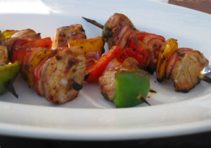 kebabs, snowbird meals, simpler meals, fewer ingredients