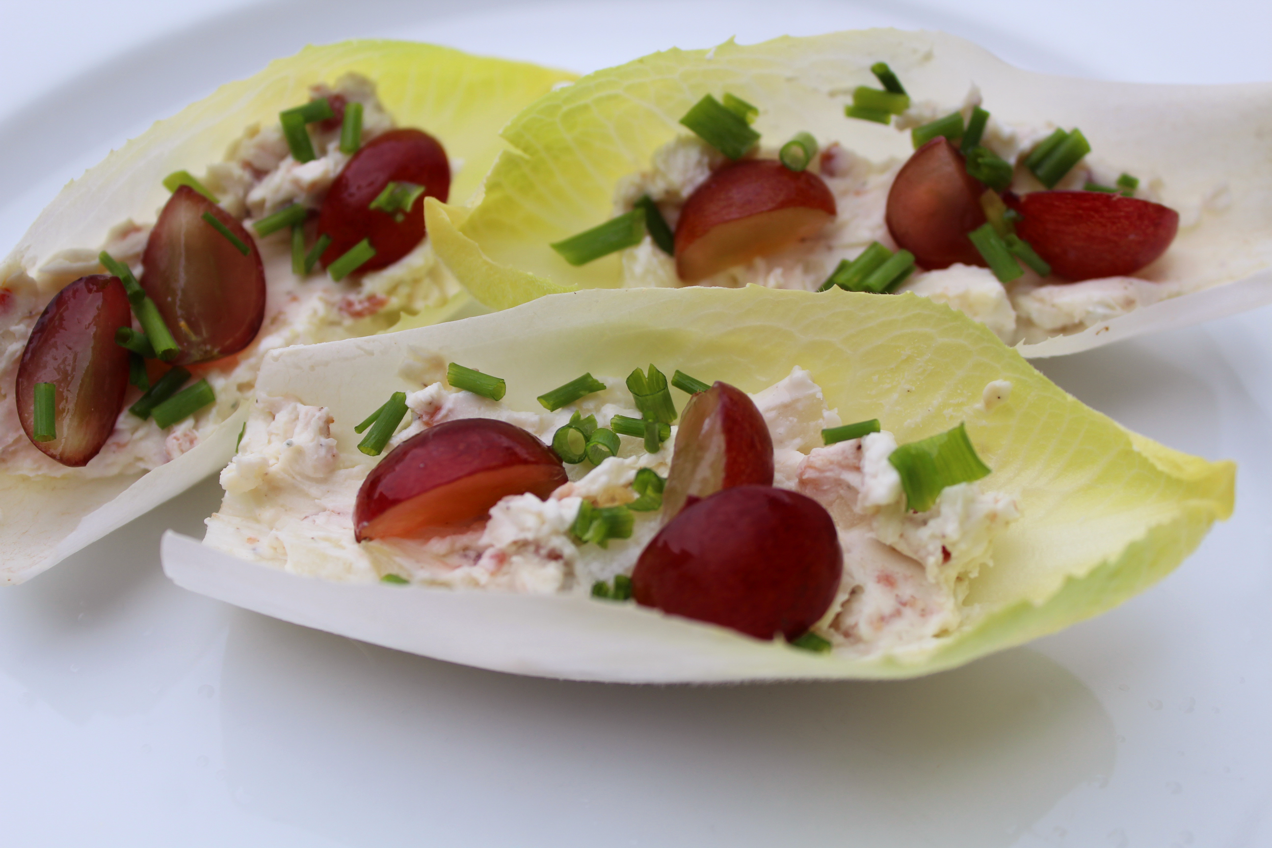 bacon blue cheese endive appetizer Snowbird Recipe